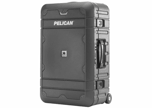"Pelican Carry-On Luggage 22"" - Travel System - Gray/Black - LG-EL22-GRYBLK"
