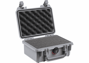"Pelican Case 1120 With Foam - SILVER <font color=""red"">300 MOQ"