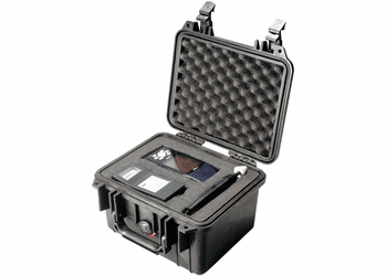 Pelican Case 1300 With Foam - BLACK