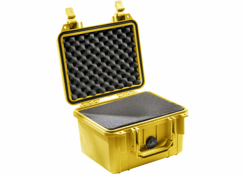 """Pelican Case 1300 With Foam - YELLOW <font color=""""red"""">300 MOQ"""