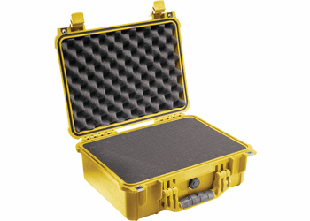 Pelican Case 1450 With Foam - YELLOW