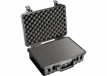 Pelican Case 1500 With Foam - BLACK