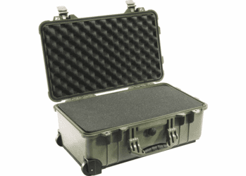 Pelican Case 1510 - FAA Carry On Approved For Airlines - OD GREEN