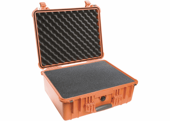 Pelican Case 1550 With Foam - ORANGE