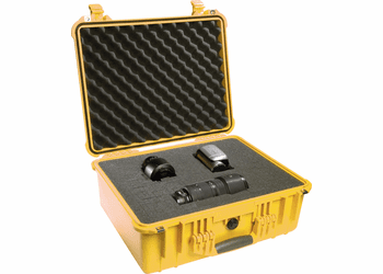 Pelican Case 1550 With Foam - YELLOW