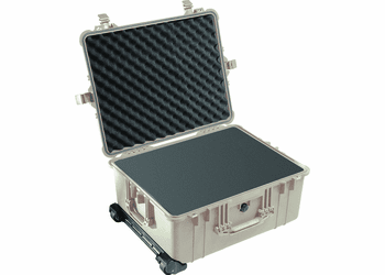 Pelican Case 1610 With Foam - TAN