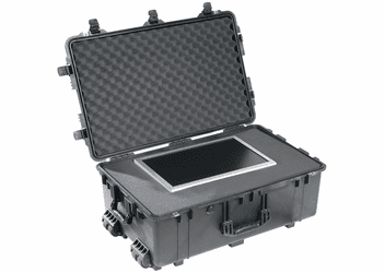 Pelican Case 1650 With Foam - BLACK