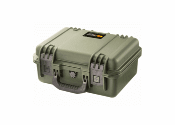 Pelican iM2100 Storm Case With Padded Dividers GREEN