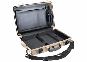 Pelican Laptop Computer Case 1490CC#1-TAN