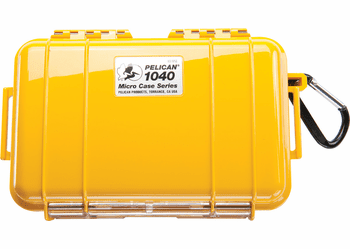 Pelican Micro Case # 1040 - YELLOW