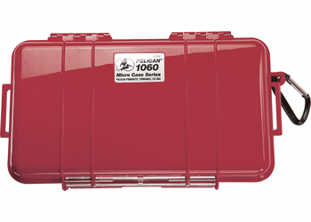 Pelican Micro Case # 1060 - Red