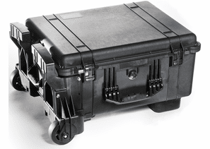 Pelican Mobility Case 1610M with Foam - Black - 1610M