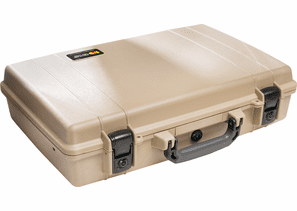 Pelican Protector Laptop Computer Case Without Foam 1490NF - Desert TAN