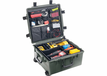 """Pelican Storm Case IM2875 With Padded Dividers GREEN<font color=""""red"""">300 MOQ"""