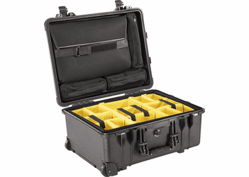 Pelican Studio Case with Sleeve & Dividers - Black - 1560SC