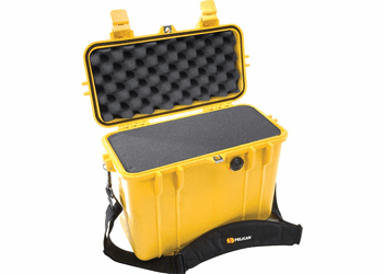 "Pelican Top Loader Case 1430 With Foam - YELLOW <font color=""red"">MOQ 200</font><br>"