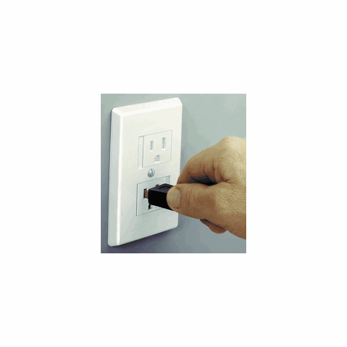 25 Pack Safe Plate Sliding Safety Outlet Covers by Mommy's Helper