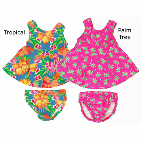 Baby & Toddler 2 Piece Swimster Skirt Swim Diaper Swimsuit by My Pool Pal