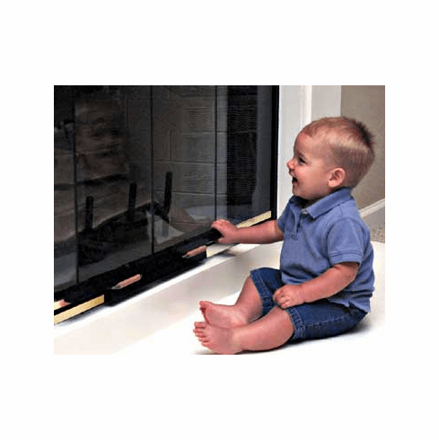 Fireplace Door Guard Safety Lock