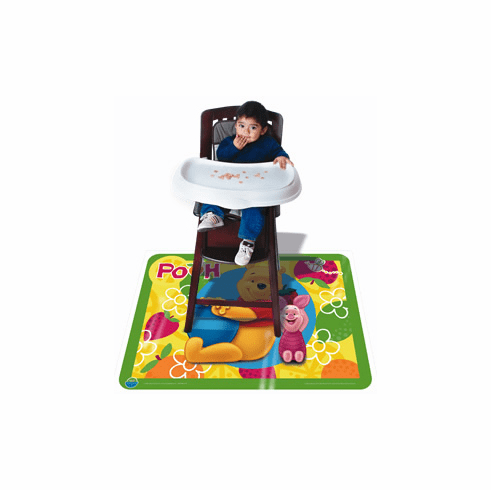Floor Topper Reusable Meal and Play Durable Mess Mat