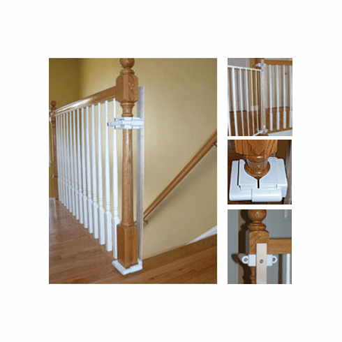 Hole-Free Post Baby Safety Gate Mounting Kit
