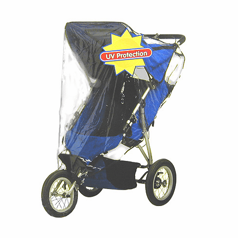 Jogging Stroller Weather Shield Cover by Jolly Jumper