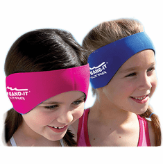 New & Improved - Ear Band-It Ultra Head Band w/Floatable Ear Plugs