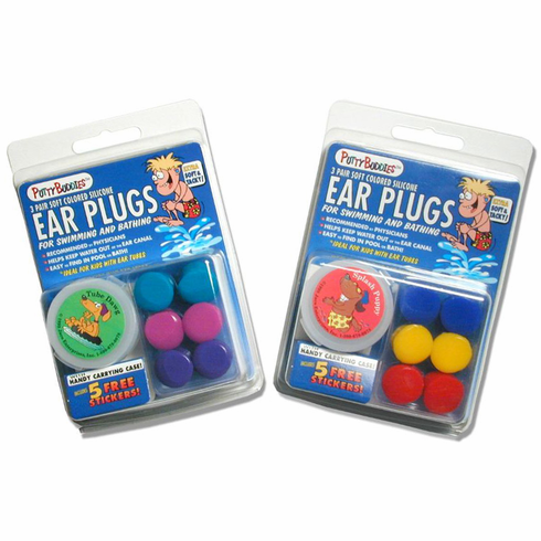 Original Soft Silicone Putty Buddies Ear Plugs by Ear Band-It