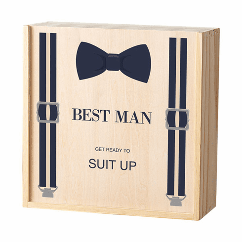 Best Man Bow Tie Attendant Box