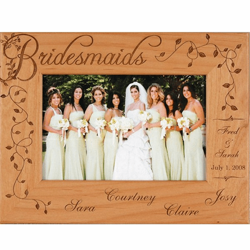 Personalized Bridesmaids Frame