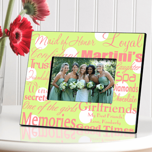 Personalized Maid of Honor Frame