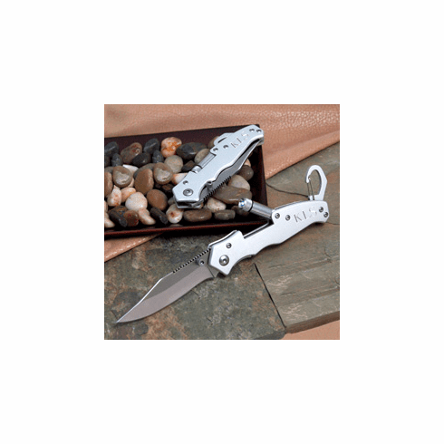 Personalized Pocket Knife with Light