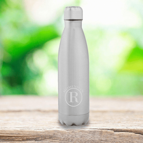 Personalized Stainless Steel Double Wall Insulated Water Bottle