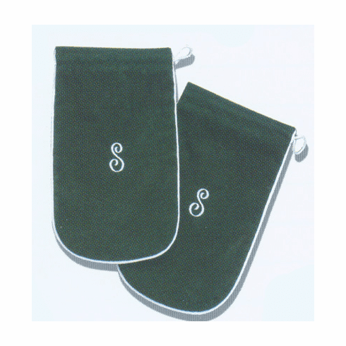Personalized Suedecloth Shoe Bags