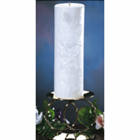 Rose Candle Collection Ring Candelabra