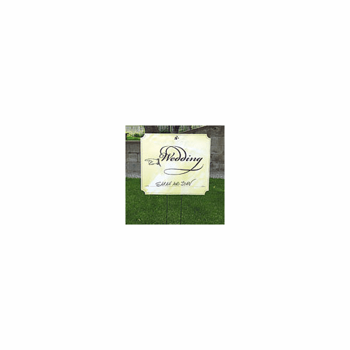 Wedding Left Directional Signs