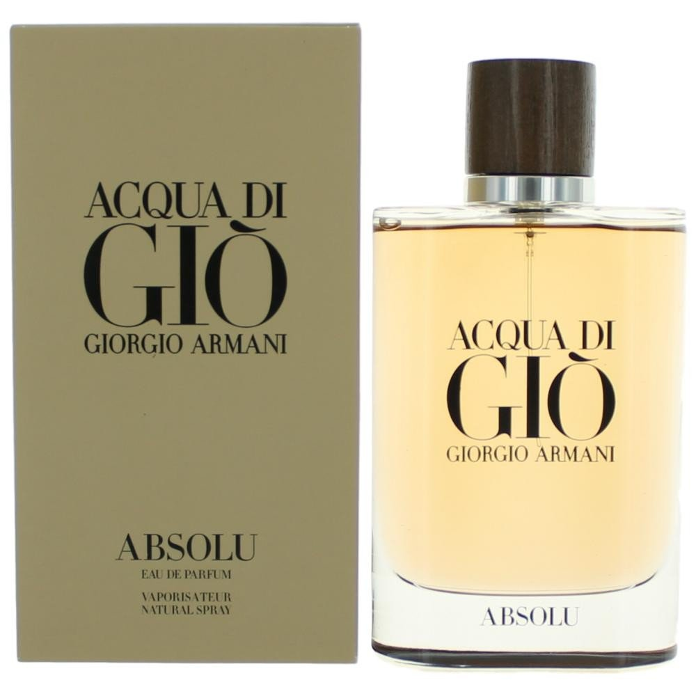 A Starting With Acqua Di Gio Absolu By Giorgio Armani 42 Oz Eau De