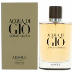 Acqua Di Gio Absolu by Giorgio Armani, 4.2 oz Eau De Parfum Spray for Men