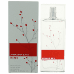 Armand Basi in Red by Armand Basi, 3.4 oz Eau De Toilette Spray for Women