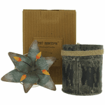 Bali Mantra Handmade Scented Candle In Waterlilly Tin - Kaffir Lime
