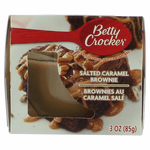 Betty Crocker Scented Candle 3 oz Jar - Salted Caramel Brownie