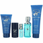 BHPC Active/Sport by Beverly Hills Polo Club, 5 Piece Gift Set for Men