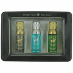 BHPC by Beverly Hills Polo Club, 3 Piece Variety Gift Set for Men (Black)