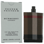 Burberry London by Burberry, 3.3 oz Eau De Toilette Spray for Men Tester