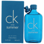 CK One Summer 2018 by Calvin Klein, 3.4 oz Eau De Toilette Spray for Unisex