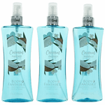 Coconut Fantasy by Body Fantasies, 3 x 8 oz Fragrance Body Spray for Women