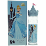 Disney Cinderella by Disney Princess, 3.4 oz Eau De Toilette Spray for Girls