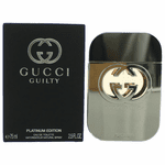 Gucci Guilty Platinum by Gucci, 2.5 oz Eau De Toilette Spray for Women