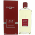 Habit Rouge by Guerlain, 6.7 oz Eau De Toilette Spray for Men