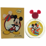 Mickey Mouse by Disney, 3.4 oz Eau De Toilette Spray for Kids (Yellow)
